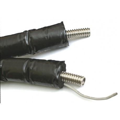 Solarleitung Wellrohr mit EPDM 13 oder 19mm